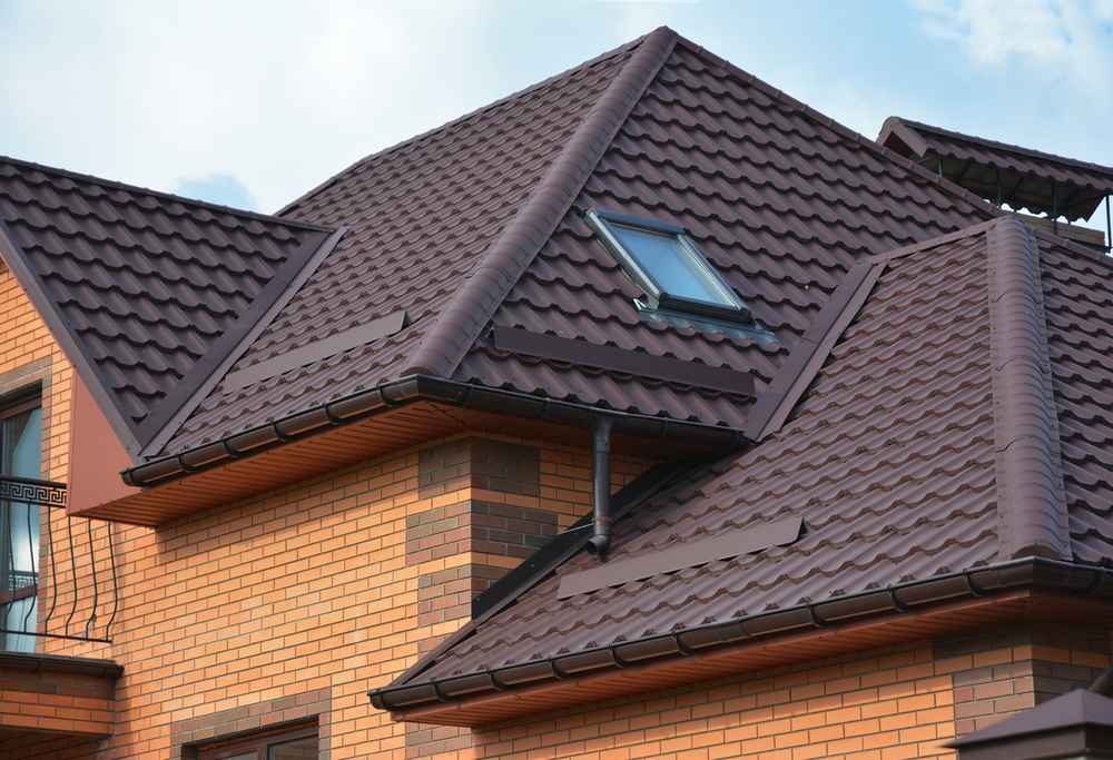 Newly installed tile roofing in Kingwood, TX